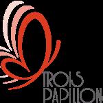 3 Papillons logo