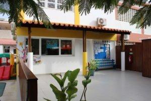 Recepção da escola Trois Papillons Luanda - Estabelecimento de ensino francês