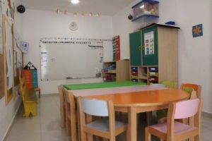 Salle de classe de l'école Trois Papillons Luanda