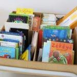 A biblioteca / ludoteca da escola Trois Papillons de Luanda, Angola
