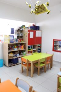 Sala das artes da escola Trois Papillons Luanda - Estabelecimento de ensino francês