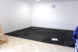 Sala de motricidade da escola Trois Papillons Luanda - Estabelecimento de ensino francês