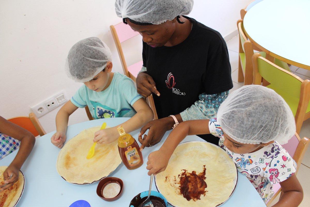 Ecole Trois Papillons Luanda - Cuisine